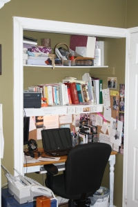Current Closet Office